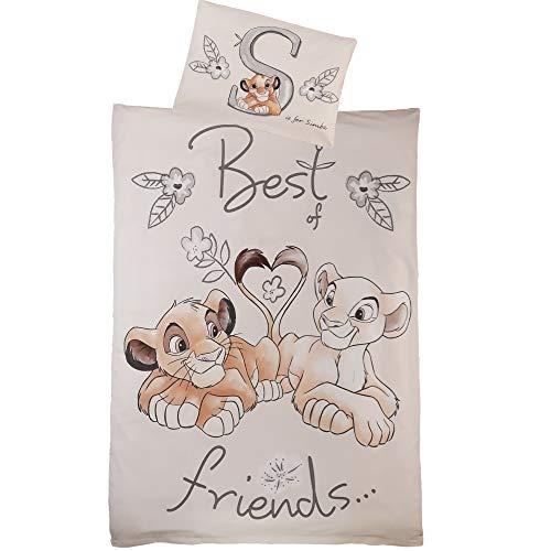 Disney König der Löwen Bettwäsche/Kinderbettwäsche ** Friends **