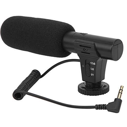 Micrófono de condensador, Micrófono hipercardioide con Cubierta a...