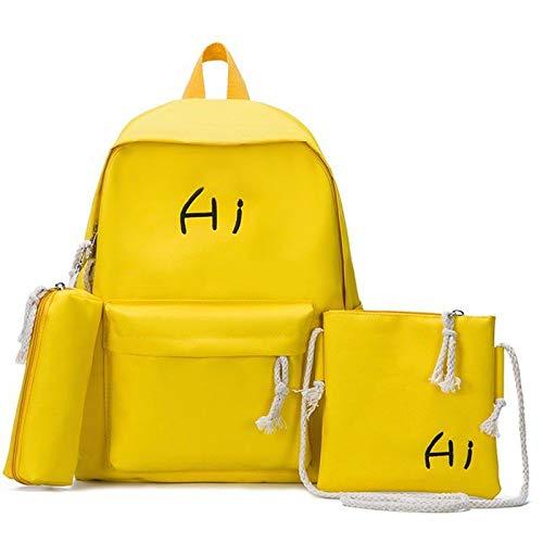 VHVCX Moda Mochila Mujeres Escuela Schoolbags Para Chicas Adolescentes Ocasionales Niños Bolsas De Viaje Mochila Linda El Bagpack Plecak Mochilas