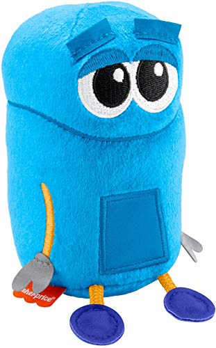 Fisher-Price StoryBots Colors with Bang Plush, take-Along Musical Preschool Toy for Kids Ages 3 Years and up