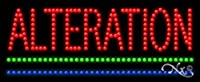 11x 27x 1インチalterationアニメーション点滅LEDウィンドウサイン