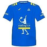 Barcelona Padel Tour | Camiseta Manga Corta Técnica Vueling Cup Hombre | Estampación Especial de Pádel | De Tacto Suave y Secado Rápido | Ropa Deportiva Azul Royal XL
