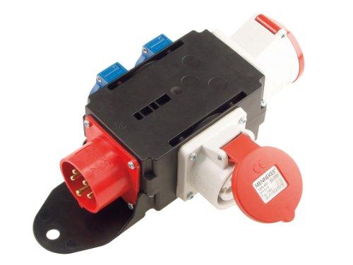 Bachmann 349.006 Adapter, 16A, 1x CEE 32A, 2X Schutzkontakt