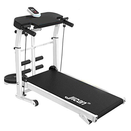 Aerobic Training Machines Treadmills Treadmill Folding Machine Tilt Fitness Treadmill Multi-function Weight Loss Aerobic Walking Treadmill Non-electric Treadmill ( Color : Black , Size : 100*50*90cm )