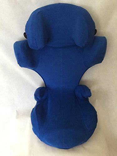 Sommerbezug Schonbezug Frottee für Kiddy Cruiserfix 3 Frottee 100{a6c483c25aee6e68d2a6eacd27d09d2466aff8eb78d1ae19169a624633bf3716} Baumwolle blau