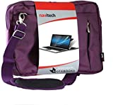 Navitech Lila Fall/Abdeckung Trage Tasche Kompatibel Mit Dem Acer C720p-2625 11.6in Touchscreen ChromeBook