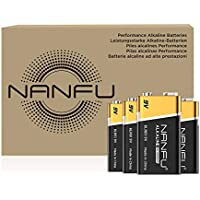 4-Count NANFU Ultra Power High Performance 9V Batteries