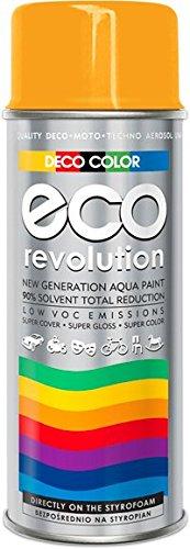 Deco Farbe Eco Revolution auf Wasserbasis Acryl Spray. 28 Farben aus der RAL-Palette styropor Stoffe...