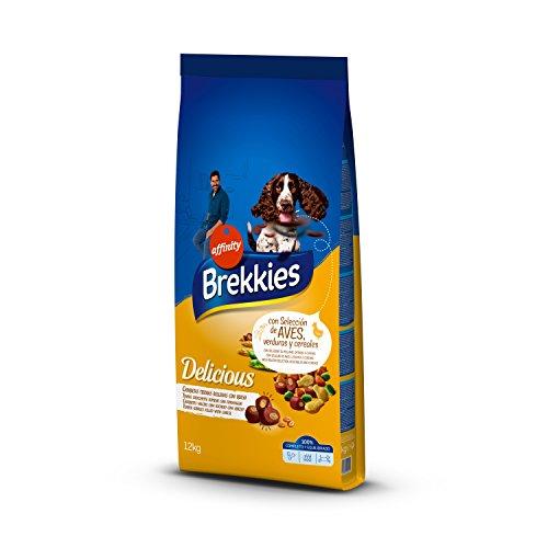 Brekkies Pienso para Perros Delicious con una Selección de Aves - 12000 gr