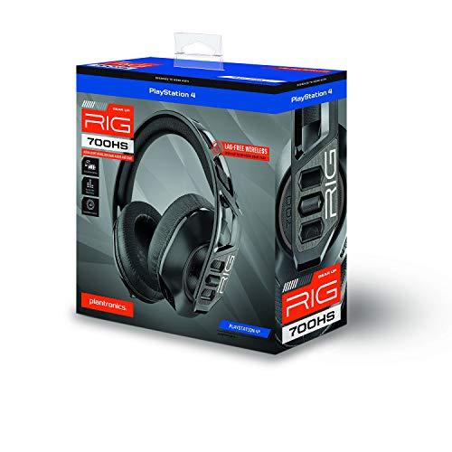 Nacon Rig 700HS, kabelloses Gaming-Headset für PS5, PS4, schwarz