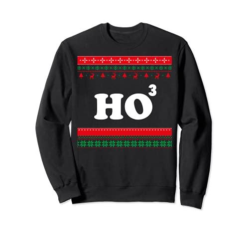 Ho Ho Ho Matematica Chistmas, brutto maglione natalizio Felpa
