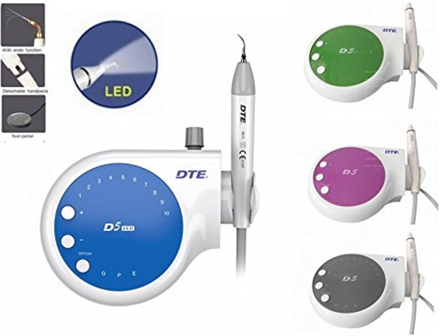 Aprodite Originally Woodpecker DTE D5 with LED SATELEC Compatible CE 220V