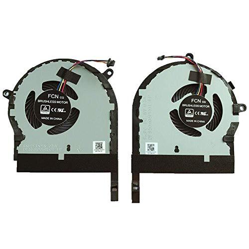 Ventilador de CPU Nuevo ventilador de refrigeración de CPU y GPU para ordenador portátil Asus TUF Gaming FX504 FX504GD FX504GE FX504GM ZX80 ZX80GD ZX80GE ZX80GM FX80 FX80GD FX80GE FX80GM FZ80 FZ80GD F