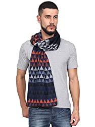 FabSeasons Mens Casual Checkered Acrylic Woolen Muffler, Scarf & Stole for Winter, Size 30  180 cms