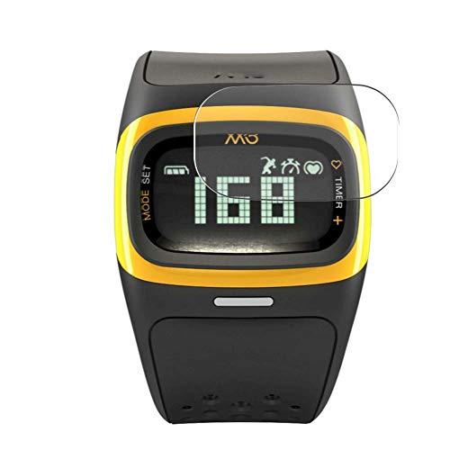 Vaxson 3 Unidades Protector de Pantalla, compatible con Mio Alpha 2 smartwatch Smart Watch [No Vidrio Templado] TPU Película Protectora