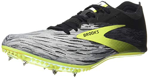 Brooks QW-K v4, Zapatillas para Correr Hombre, Black Grey Nightlife, 42.5 EU