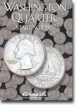 Harris Coin Folder – Washington Quarters #4 Folder 1988-1998...