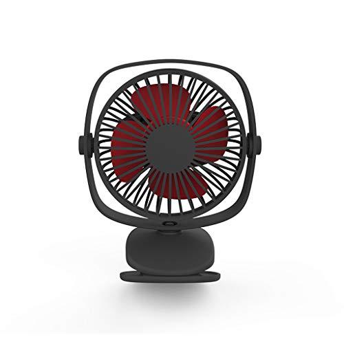 QIYINGYING 2019 Nuova Clip Piccolo Ventilatore Mano Held Fan Mute Mini Ventilatore Portatile USB da Viaggio Ventilatore palmare Elettrico Ricaricabile
