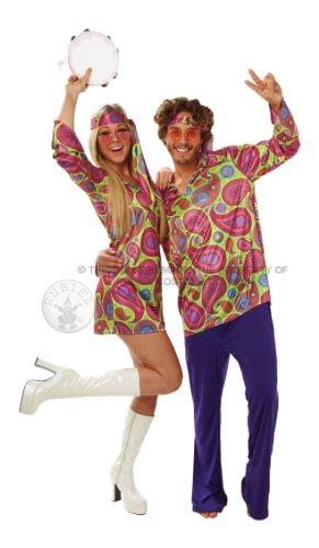 Rubies Déguisement Hippie pour Homme Adulte Taille M Standard