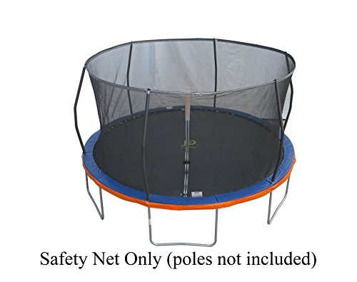 14' Replacement Trampoline Safety Net Fits Walmart Models: TR-146U-FLX, Tr-1686-TPR & 14'...