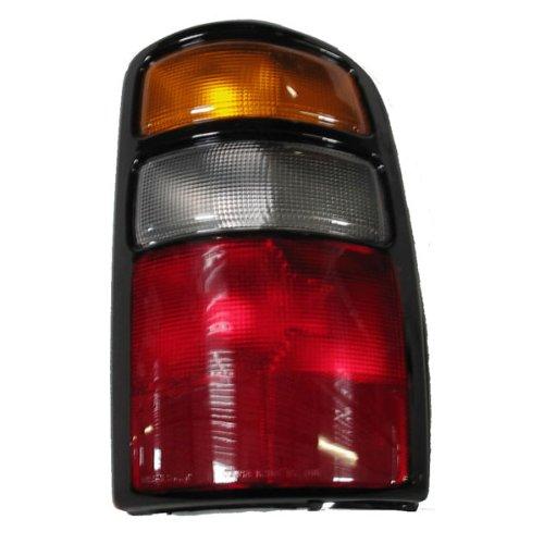 2004-2005-2006 Chevy/Chevrolet Suburban, Tahoe & GMC Yukon XL 1500 2500 Denali Tail Light Lamp Rear Brake Taillight Taillamp Right Passenger Side (04 05 06)