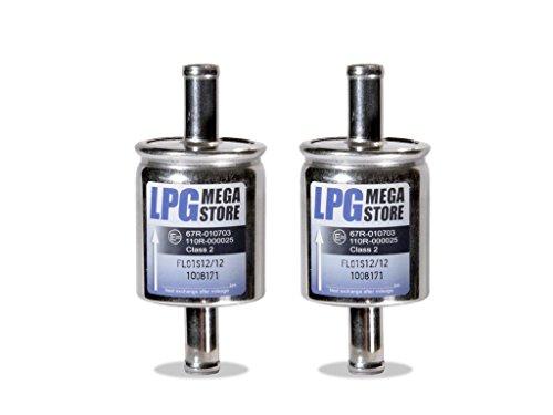 2x Filtro de gas hs01s 12x 12mm universal (KME, BRC, Stag, etc.)