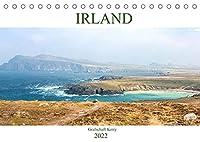 Irland - Grafschaft Kerry (Tischkalender 2022 DIN A5 quer): Besuchen Sie mit uns die eindrucksvolle und raue Landschaft der Grafschaft Kerry im Suedwesten Irlands. (Monatskalender, 14 Seiten )