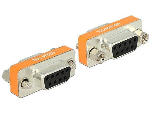 DeLock Adapter Sub-D 9Pin Bu/Bu Nullmodem