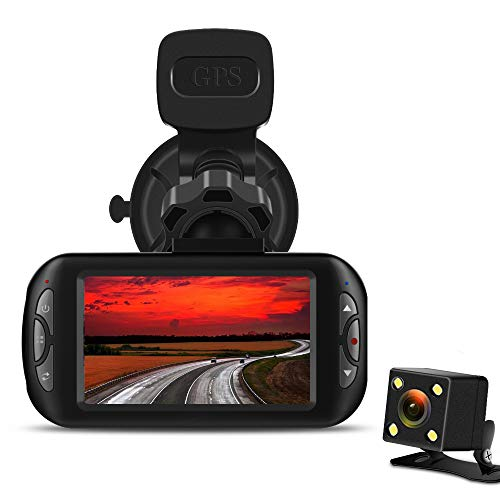 dash cam with lcd screen