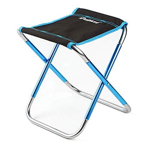 CHENDZ Tabouret d'extérieur pliant ultra léger portable mini adulte orange petite chaise de pêche aligner petit banc Mazar 22.5x24.8x27cm (Color : Black)