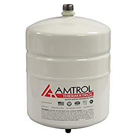 Amtrol st-5 thermal expansion tank 1 accepts expanded water caused by thermal expansion returns water to the system when hot water is used prevents the relief valve from going off