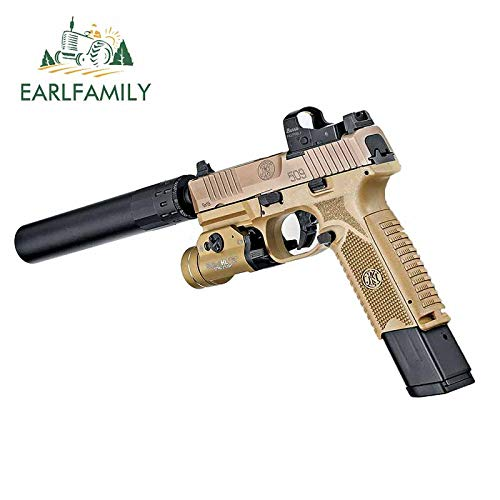 A/X Calcomanías de Coche de 13 cm 8,3 cm para el FN 509 Tactical: un Cambiador de Juego para la Pegatina de Graffiti para portátil de 9 mm Pi de Optics Ready