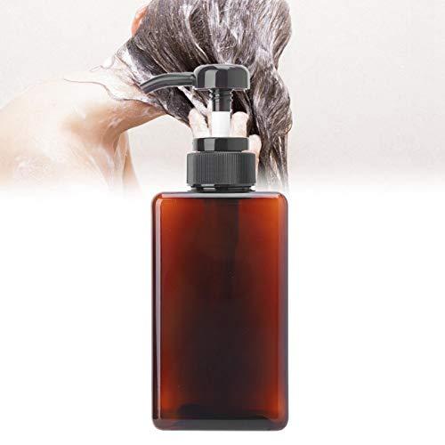 450ml Seifenspender Sprühflaschen Lotion Flasche Duschpumpe Tragbar für Hautpflege Lotion für den(450ml brown lotion bottle)
