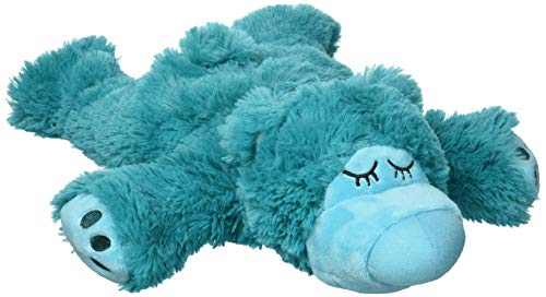 Warmies® Sleepy Bear türkis: Stofftier mit Lavendel-Fü