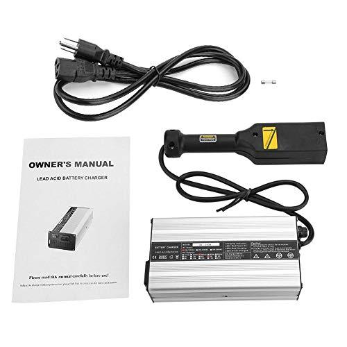 Cargador de batería para Carrito de Golf para Club Car DS/EZ-GO TXT Indicador LED de la Serie, protección contra Cortocircuitos, Seguro y confiable de Usar