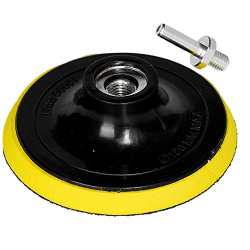 oxoxo Velcro Backing Pad Pulidora lijadora Orbital lijado Pad M14para taladro eléctrico