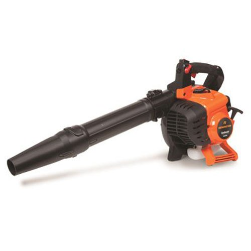 Remington RM2BL Ambush 27cc Full Crank 2-Cycle 2-in-1 Handheld Gas Powered Leaf Blower - Handheld Gasoline Blower for Lawn Care with Vacuum Capability, Orange