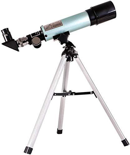 ZHAOJ Telescope for Kids 15-21 Beginner Refractor Telescope Astronomical with Finder Scope Tripod for Stargazing