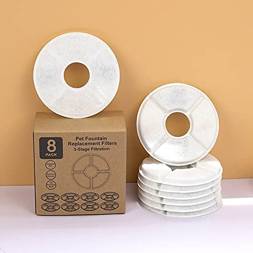 Pet Max 77% OFF Water Dispenser Filters Cotton Cat Ranking TOP17 Fountain Filter Round Rep