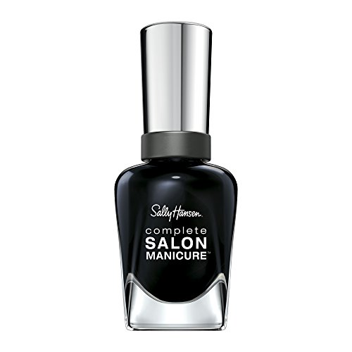 Sally Hansen - Complete Salon Manicure Nail Color, To the Moon and Black 016, White To Black Collection