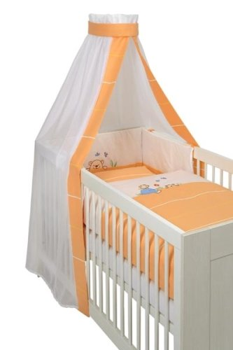 Dr. Soleil 160163 – Parure de lit avec applications