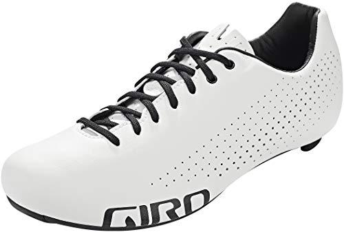 Giro Empire Zapatillas de triatlón para Bicicleta de Carreras, Hombre, Blanco, 43