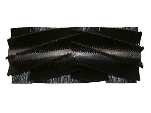 partmax® Bürstenwalze für WAP KSE 970 / KSP 970, Poly 0,4 mm glatt schwarz, Walze, Walzenbürste, Kehrwalze