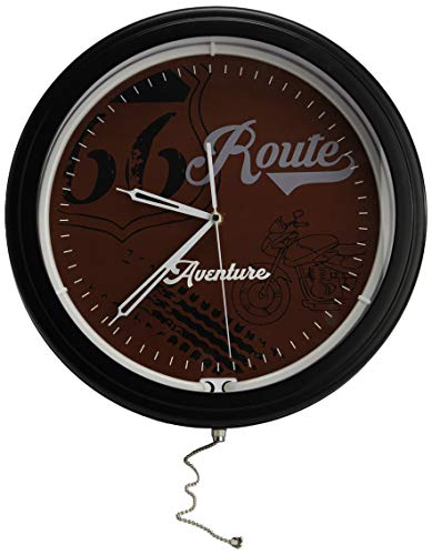 Amadeus Horloge néon Route 66 38 cm