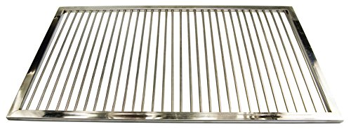 AKTIONA Grillrost aus Edelstahl nach Maß - Umfang: 1-340 cm, Rost nach Maßanfertigung, Grill nach Wunsch, Gasgrill, Grillkamin,V2A, (1-150 cm)