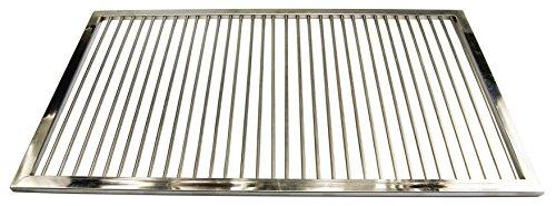 AKTIONA Grillrost aus Edelstahl nach Maß - Umfang: 1-180 cm, Rost nach Maßanfertigung, Grill nach Wunsch, Gasgrill, Grillkamin,V2A,