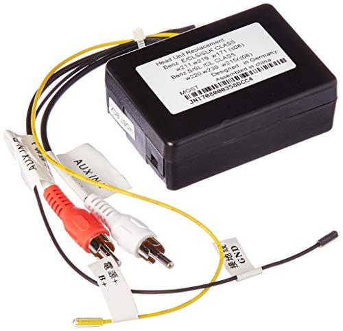 XTRONS Optical Fiber Decoder Box für Mercedes-Benz CL/CLS/E/S/SL/SLK Serien