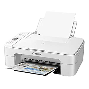 Canon TS3322 Wireless All in One Printer – White