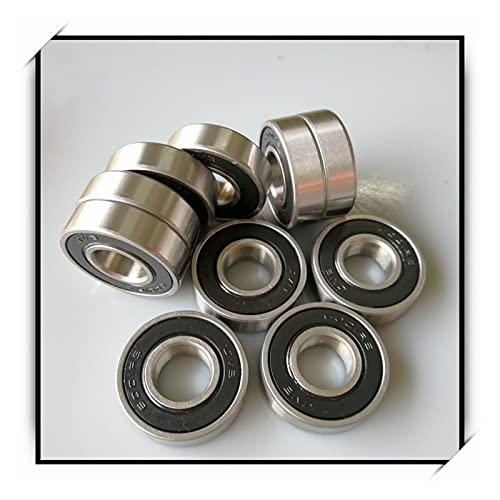 liuchenmaoyi Rodamientos de la Carretilla 2pcs ABEC-7 Rodamiento de Bolas de Ranura Profunda sellada de Goma rodamientos de Patinaje (Diameter : 2Pcs 6000-2RS)