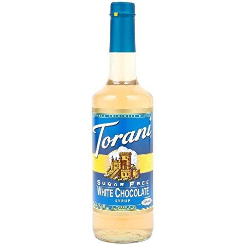 Torani Sirup Weiße Schokolade zuckerfrei 750 ml